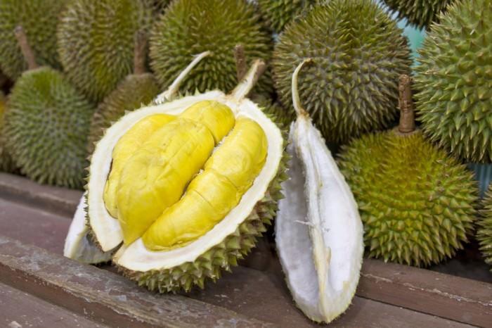 Dziwne owoce - owoc duriana