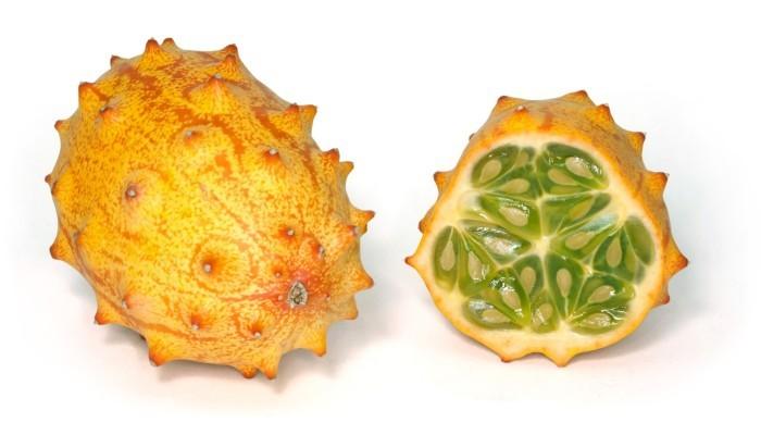 Dziwne owoce - kiwano