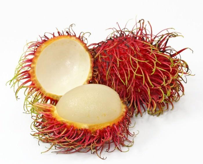 Dziwne owoce - rambutan