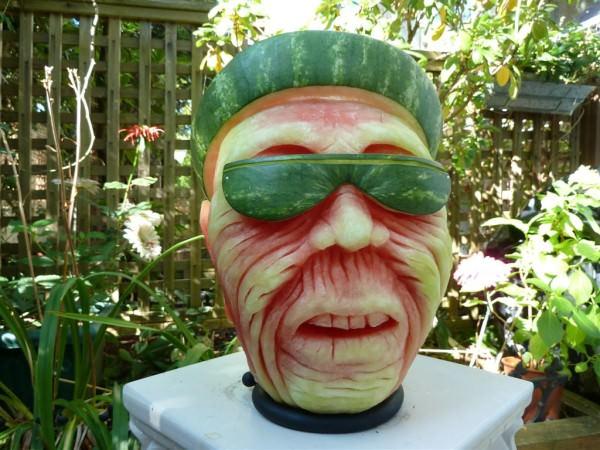 Rzeźby z arbuza