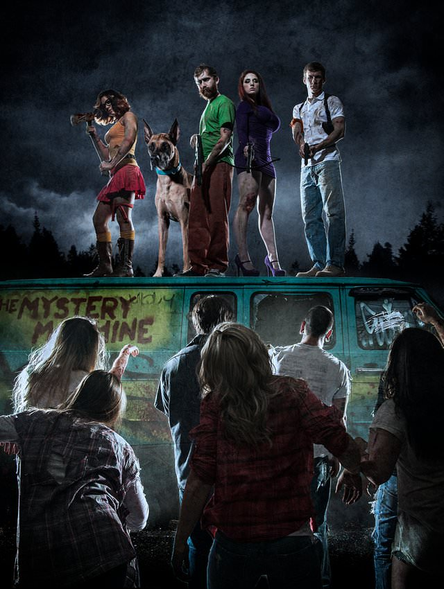 Scooby Doo vs Zombie