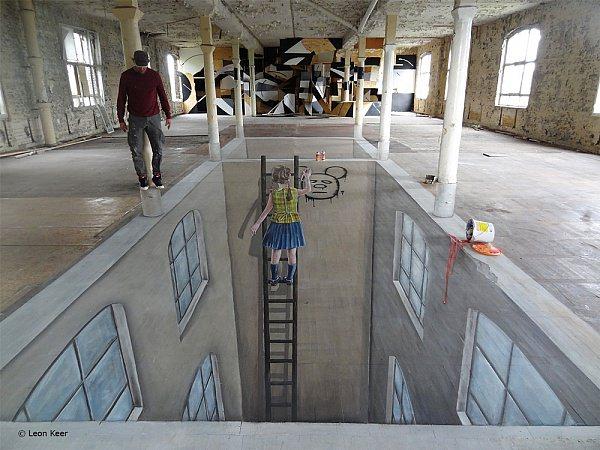Street art - uliczne dzieła sztuki