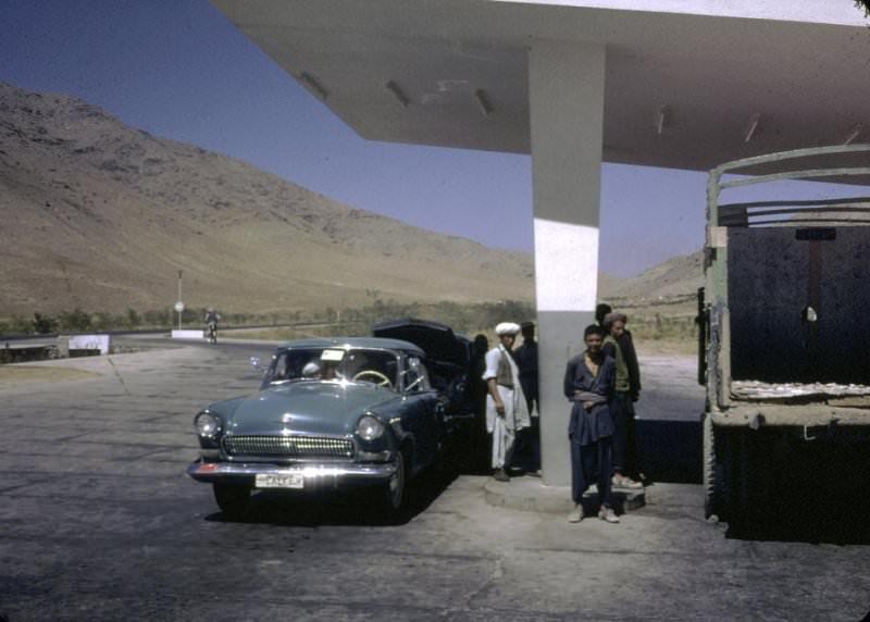 Zatrzymane w kadrze: Afganistan lata 60