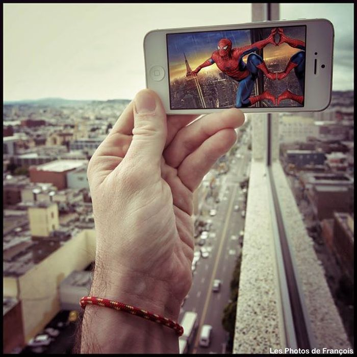 artysta-iphone-spiderman