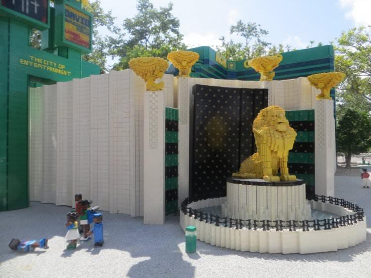 las vegas z Lego