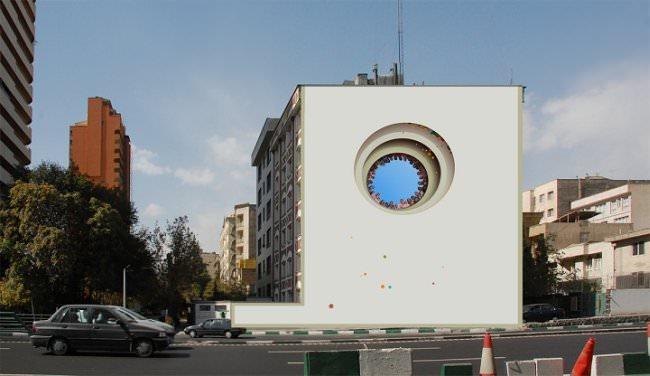 Murale w Teheranie