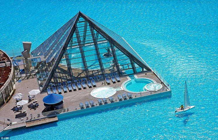 Największy basen na świecie