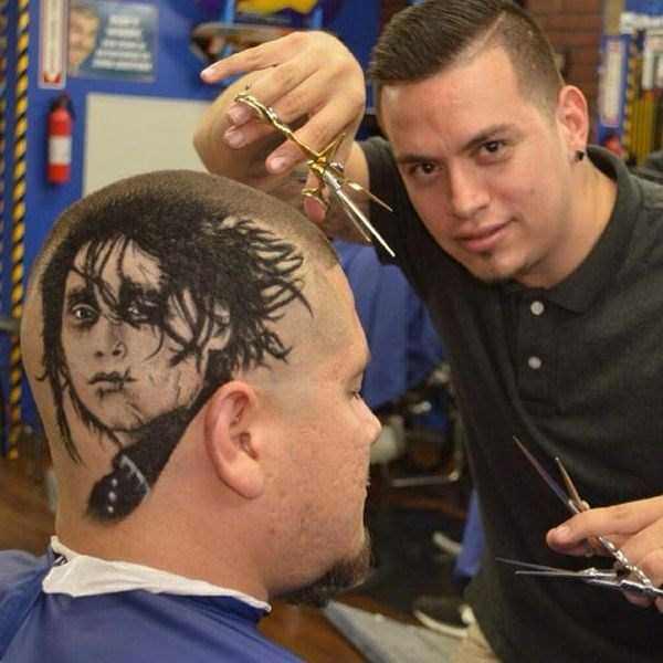 Rob the original niesamowity fryzjer z USA