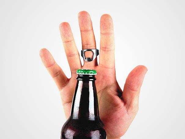 otwieracz do butelek pierscien