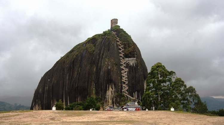 Skała Guatape Kolumbia