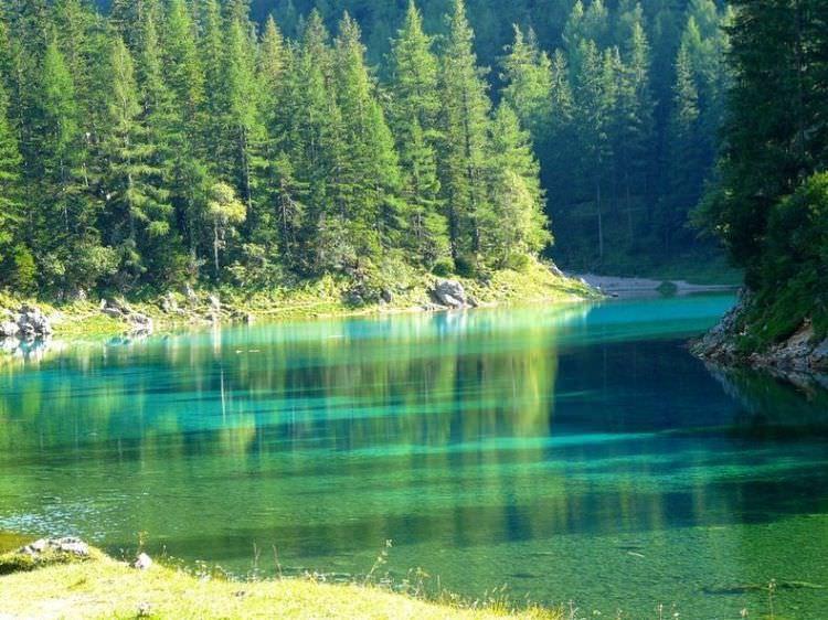 gruner see w Austrii