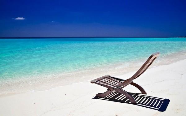 Piękna Plaża śłońce I Widoki Prawda Czy Fałsz