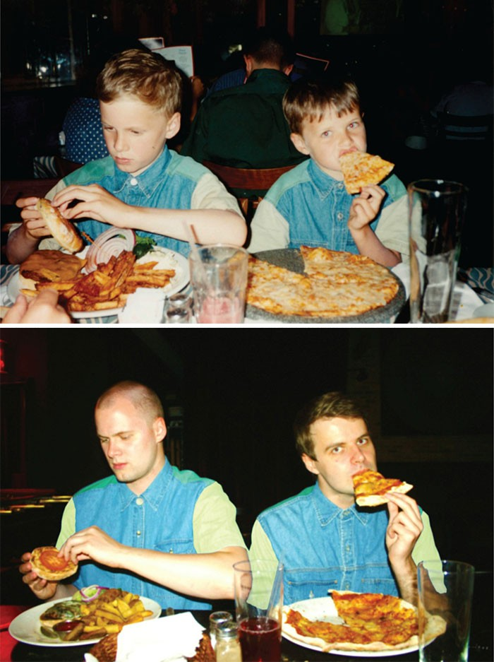 pizza i burger 18 lat pozniej