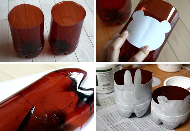 pomysł na wykorzystanie plastikowych butelek