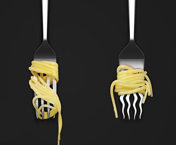 widelec do spagetti