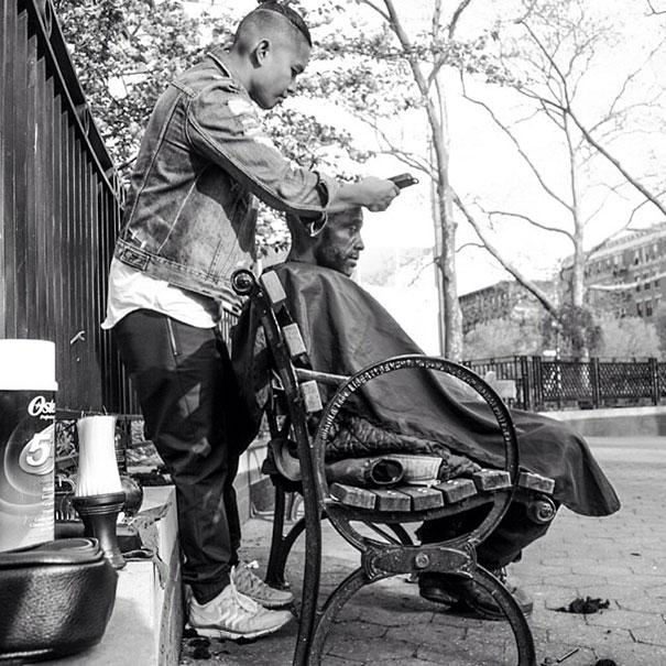Mark Bustos fryzjer nowy york1