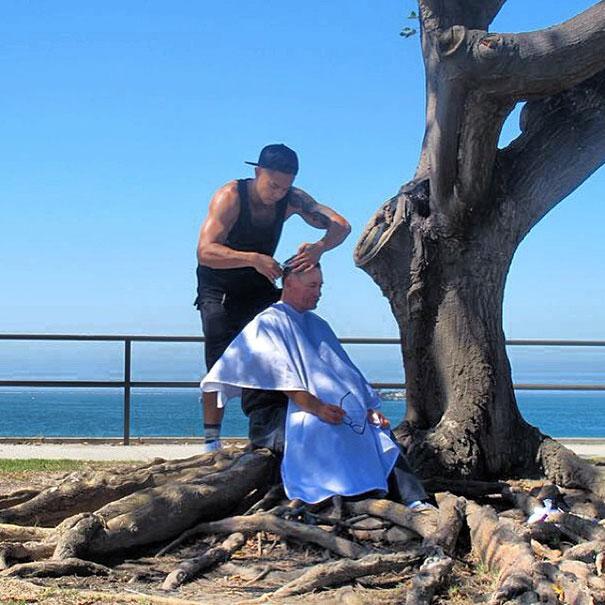 Mark Bustos fryzjer nowy york6