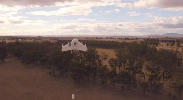 google dron