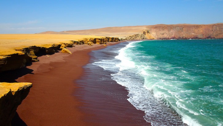 Plaża Red Beach