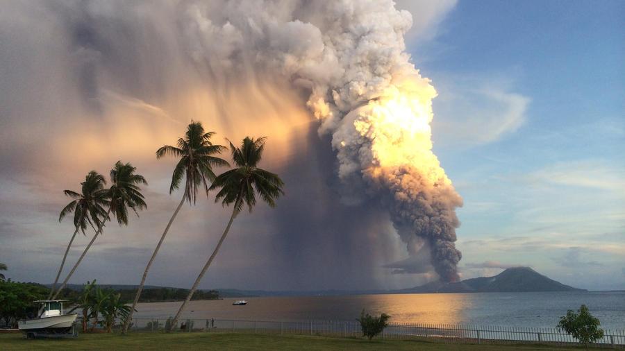 Wybuch wulkanu Papua Nowa Gwinea