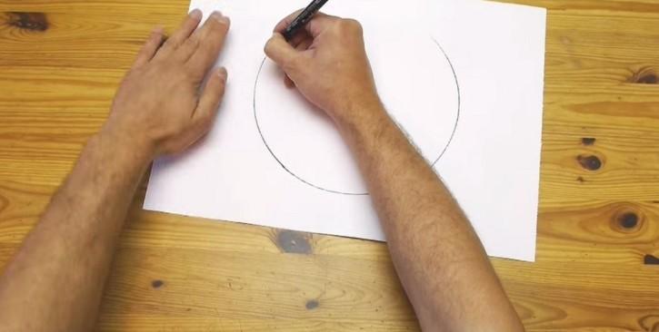 jak narysować perfekcyjny okrąg