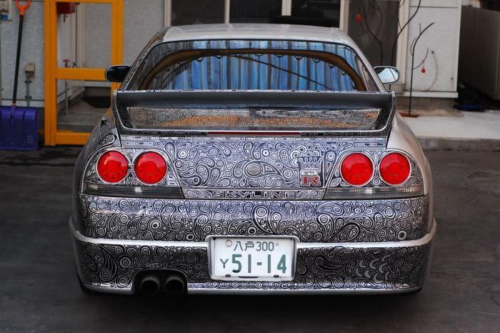 Nissana Skyline GTR