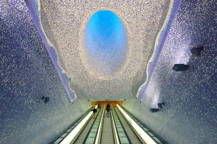 Stacja metra w Neapolu