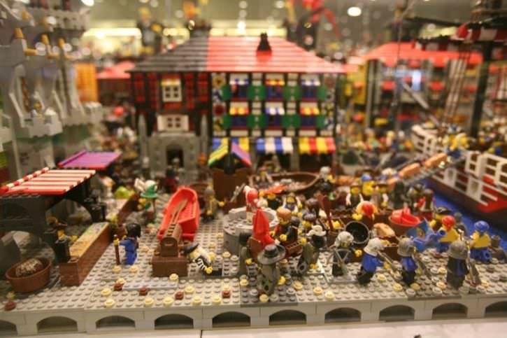 wystawa LEGO Stadion Narodowy