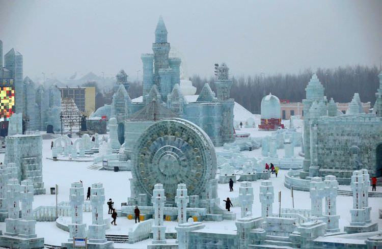 Festiwal lodu i śniegu w Chinach