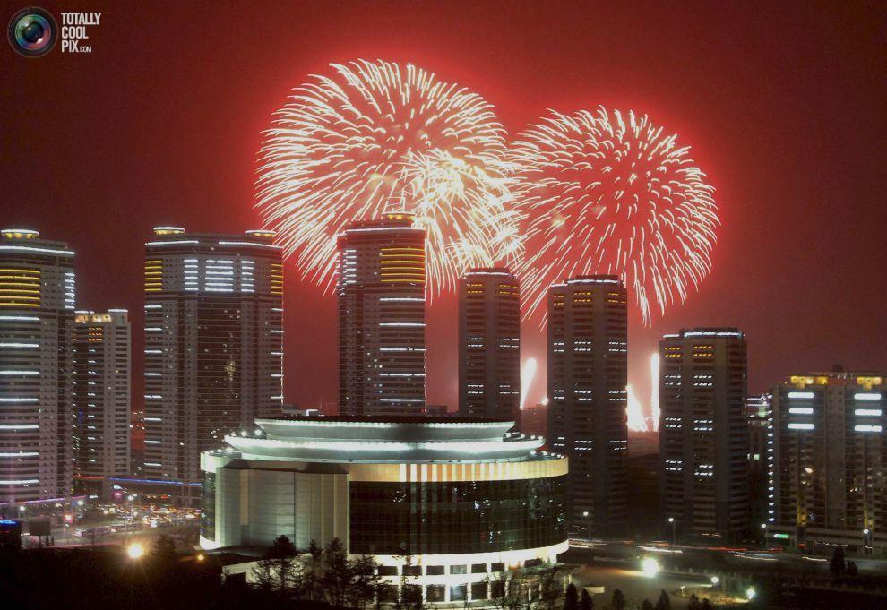 noworoczne-fajerwerki-korea-polnocna