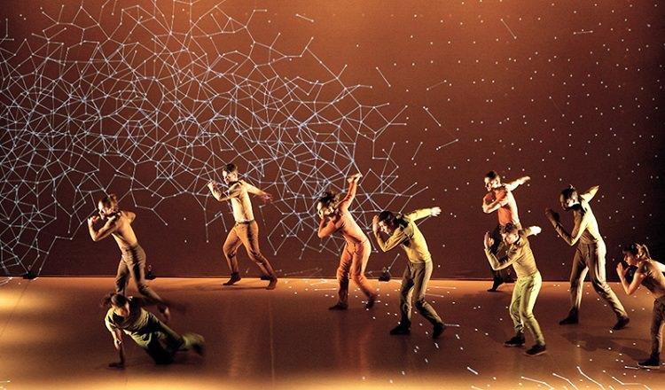 Pokaz tańca Pixel