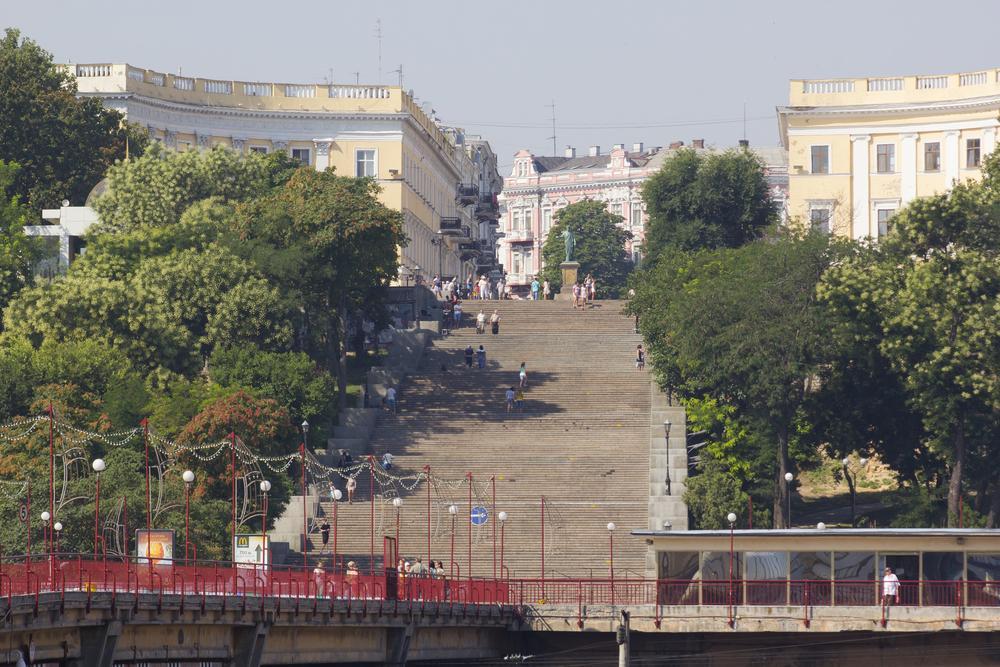 Potiomkinskije schody. Przewodnik Odessa