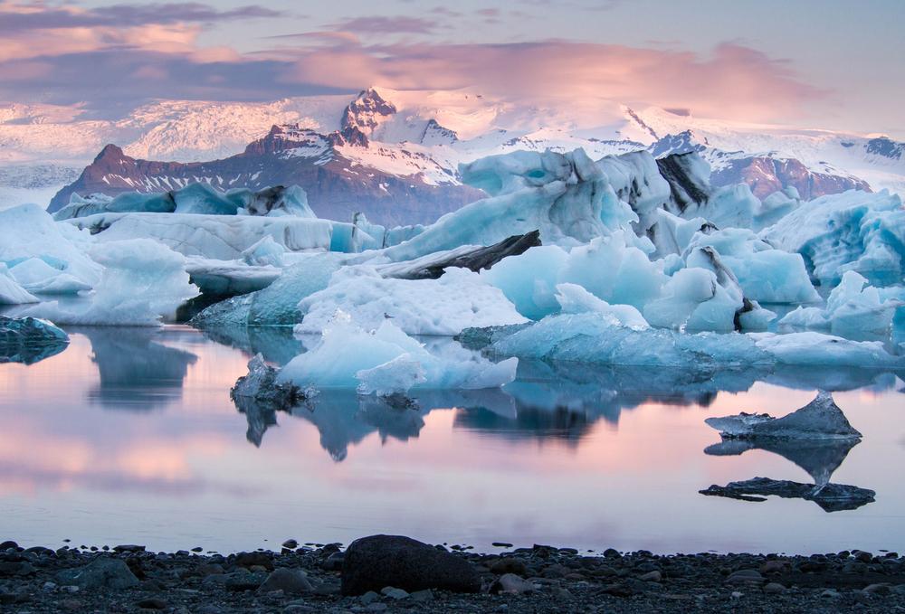 Islandia lodowiec Jokulsarlon