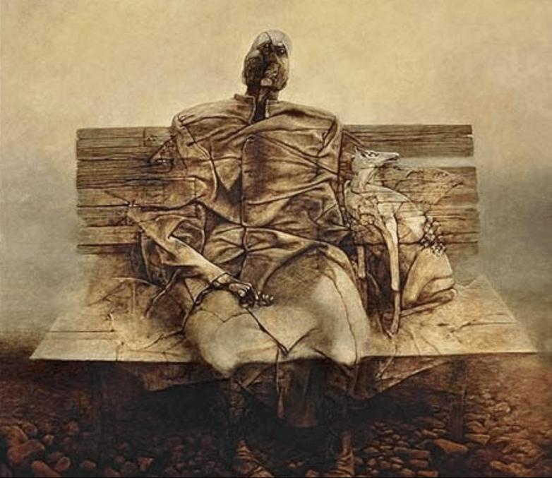 Obrazy Zdzisława Beksińskiego, rodzina Beksińskich, Beksińscy