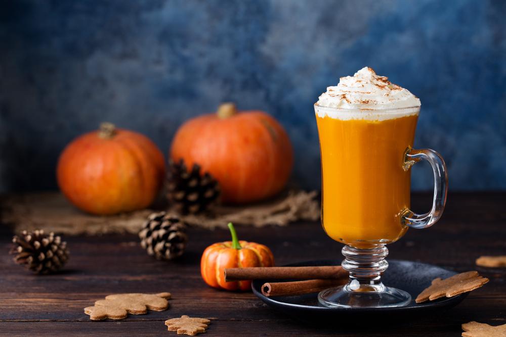 Pumpkin Spice Latte - kawa z dyni.