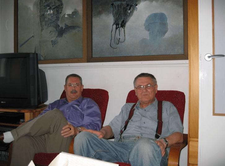 Zdzisław Beksiński i Piotr Dmochowski, historia rodziny Beksińskich, Rodzina Beksińskich