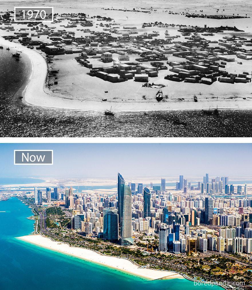 Abu Zabi kiedyś i dziś