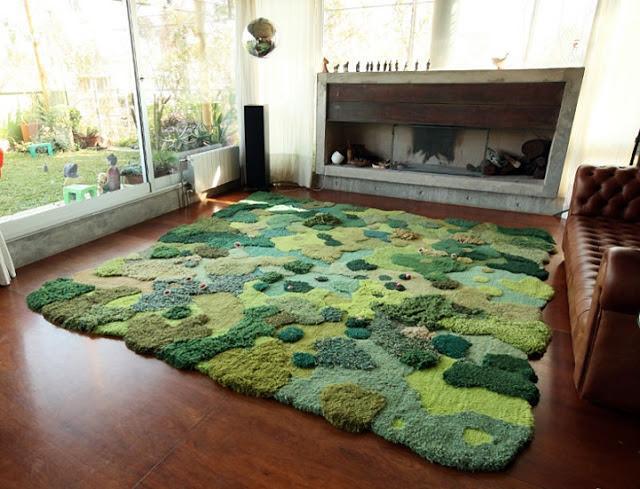 Alexandra Kehayoglou dywany imitujace nature
