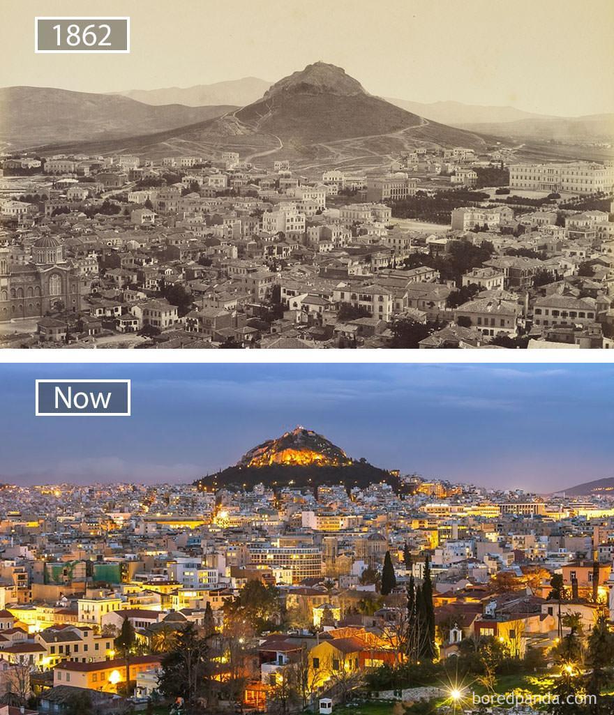 Ateny kiedyś i dziś
