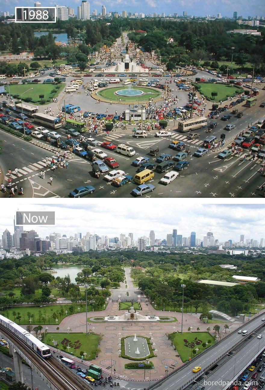 Bangkok kiedyś i dziś