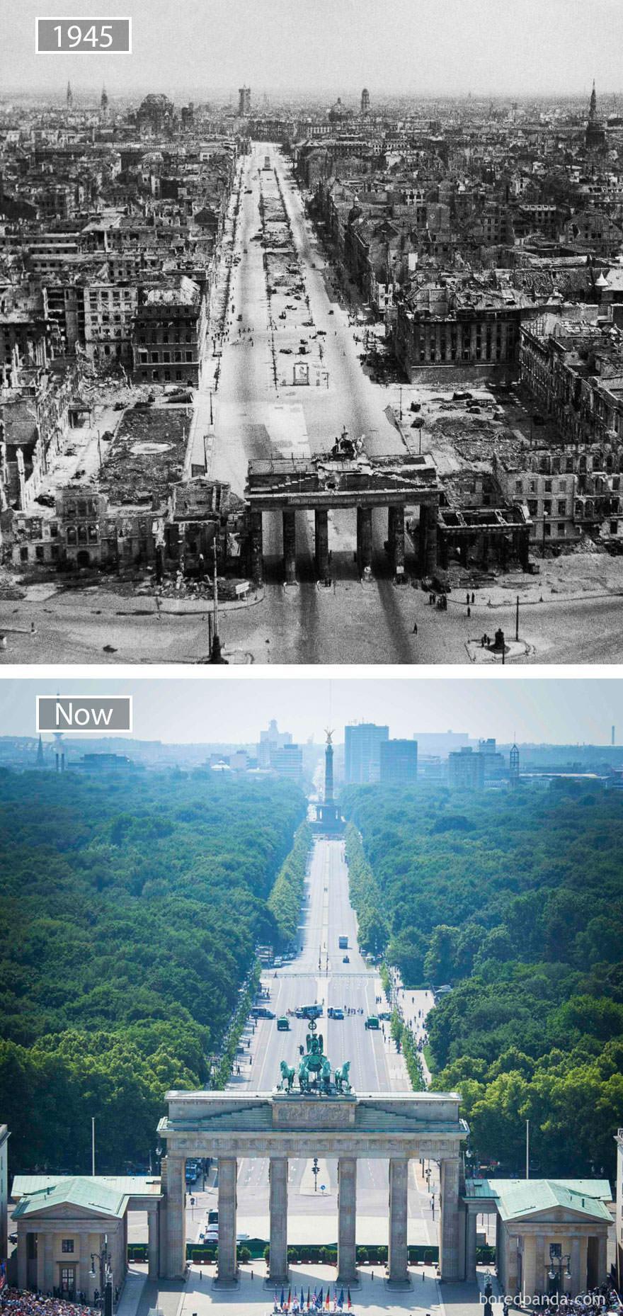 Berlin kiedyś i dziś
