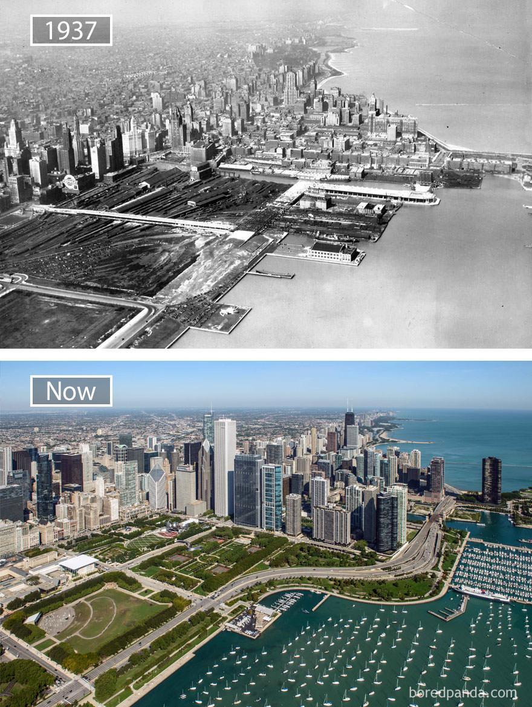 Chicago kiedyś i dziś