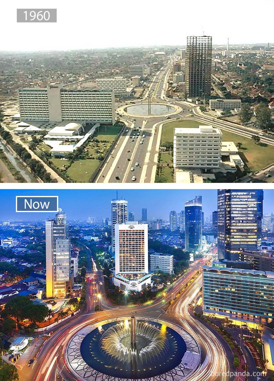 Dżakarta kiedyś i dziś