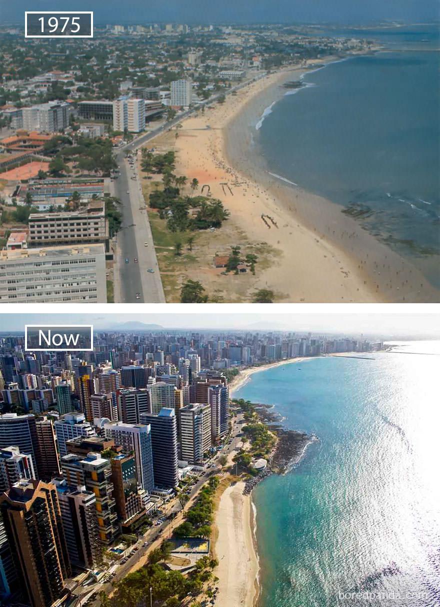 Fortaleza kiedyś i dziś