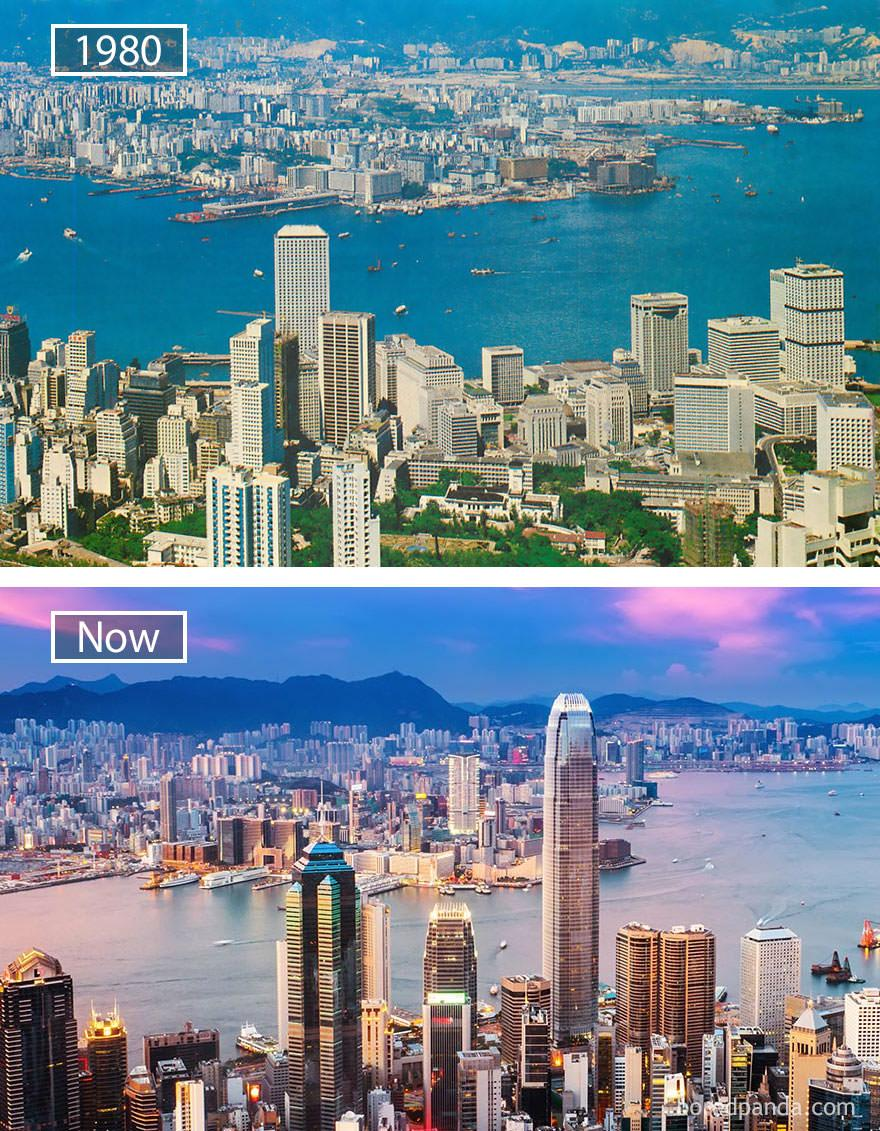 Hongkong kiedyś i dziś