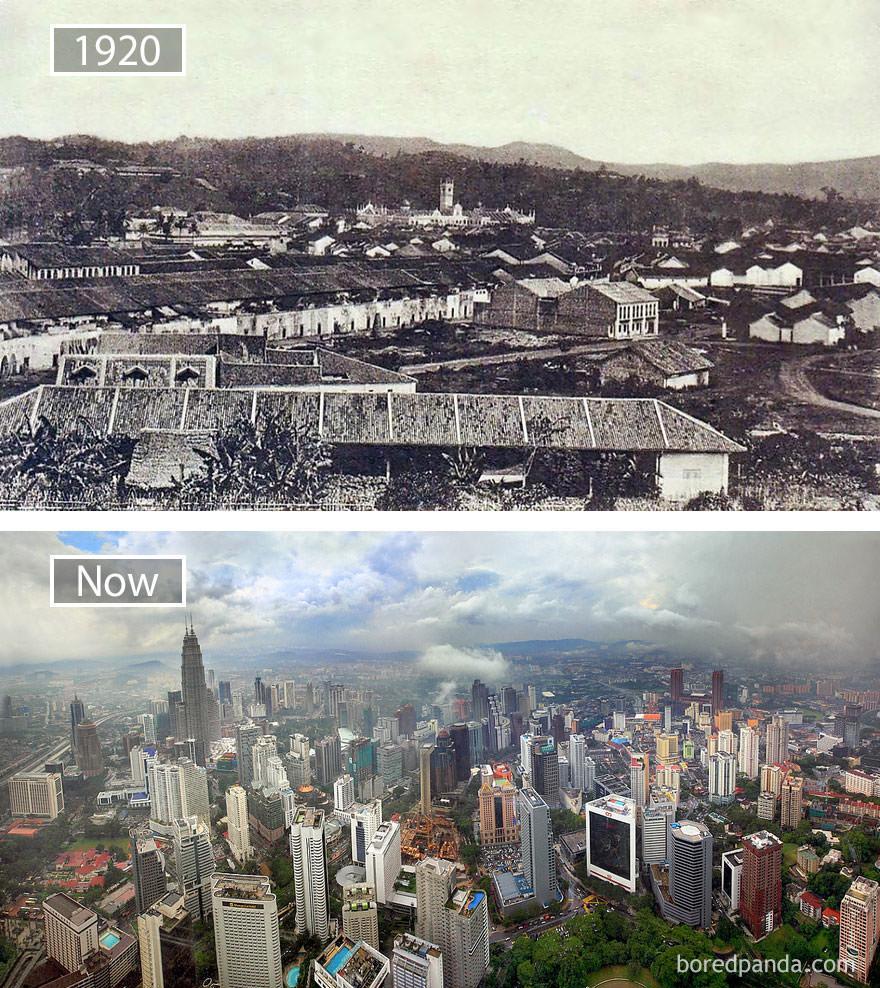 Kuala Lumpur kiedyś i dziś