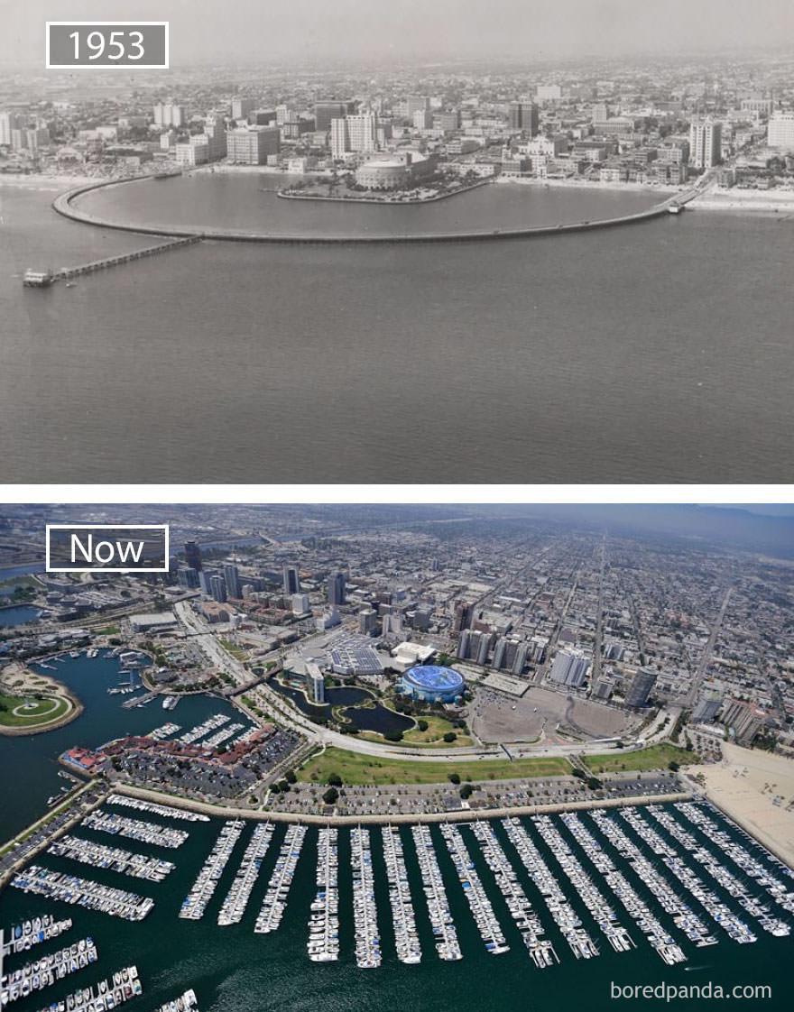 Long Beach kiedyś i dziś
