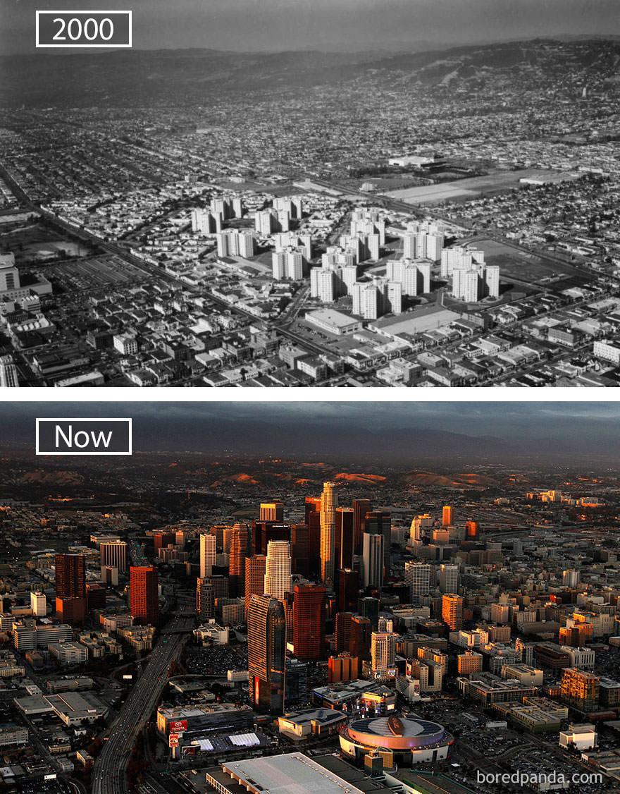 Los Angeles kiedyś i dziś