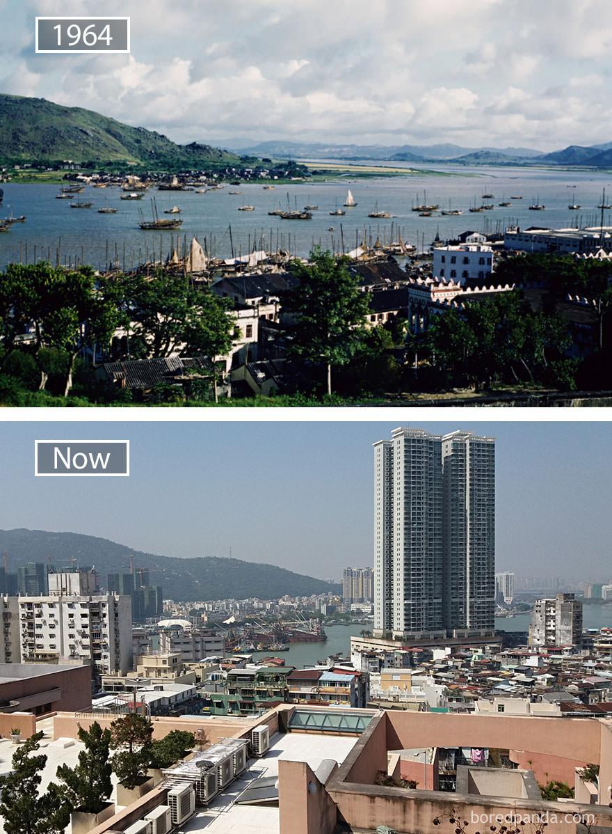 Macau kiedyś i dziś