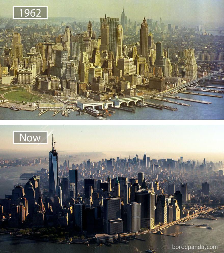 Nowy Jork kiedyś i dziś